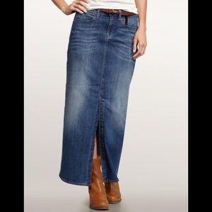 Vintage Gap Maxi Jean Skirt